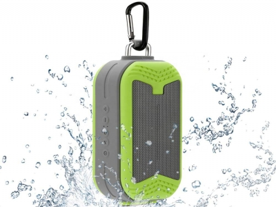 10W Enhanced Bass Hands-Free 4.1 Outdoor Waterproof Shower Wireless Portable Bluetooth Speaker Built-in Mic Support TF Card